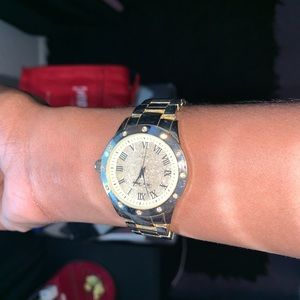 Fashion House Gold Watch